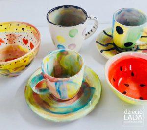 zajęcia z ceramiki w DziecioLadzie